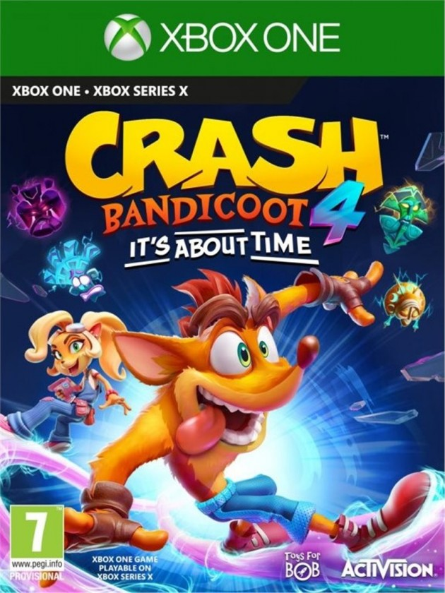 Hry na XBOX XBOX hra - Crash Bandicoot 4 It´s about time