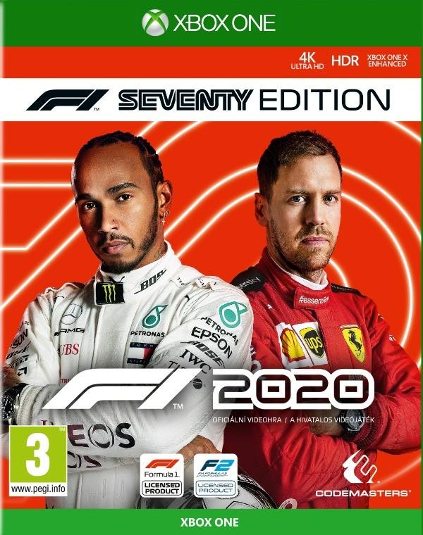 Hry na XBOX XBOX hra - F1 2020 Seventy Edition