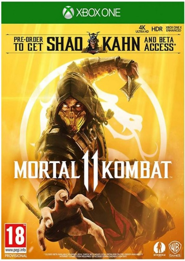 Hry na XBOX XBOX hra - Mortal Kombat XI