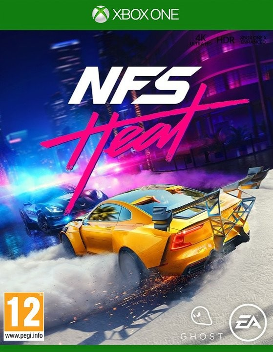 Hry na XBOX XBOX hra - Need for Speed Heat
