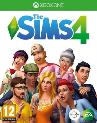 Hry na XBOX XBOX hra - The Sims 4