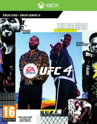 Hry na XBOX XBOX hra - UFC 4