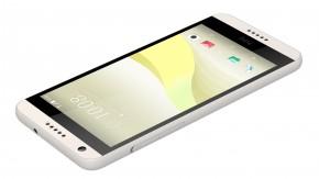 HTC Desire 650 Light Lime, žlutá