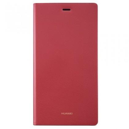 HUAWEI flipové pouzdro pro Huawei P8 Lite, červená
