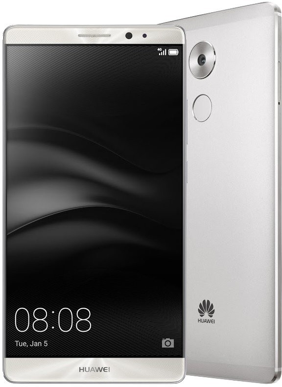Huawei Mate 8 DS, stříbrná