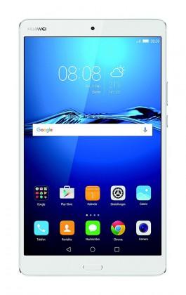 Huawei MediaPad M3, bílá