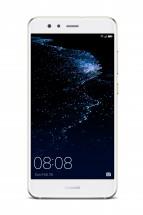 Huawei P10 Lite DS, bílá + objektiv HD Macro