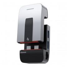 Hub Baseus Armor Age USB-C HUB adaptér (USB/RJ45/mini jack/HDMI)