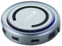 Hub Canyon CNS-TDS07DG, USB-C, HDMI, VGA, bezdrát. Nabíječka