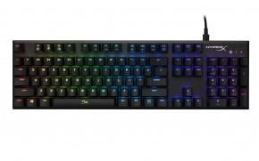 HyperX Alloy FPS RGB herní mech. klávesnice Silver Speed spínače