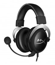 HyperX Cloud Gaming Headset, stříbrná