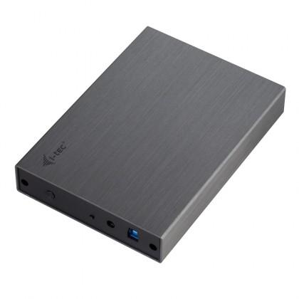 """i-tec MySafe Advance 3.5"""", USB 3.0, černá MYSAFE35U401"""
