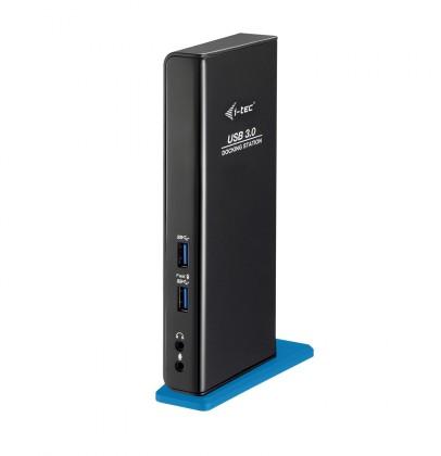i-tec USB 3.0 Dual Docking Station Advance + USB Charging Port