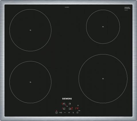 Indukční varná deska Siemens,60cm,4zóny,7,4 kW,nerezový rámeček