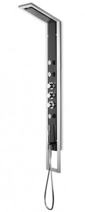 Industrio 351t  Sprchový hydromasážní panel (černé)