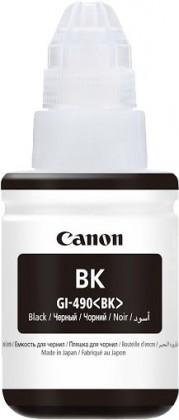 Inkoust Canon GI-490 BK, černá
