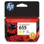 Inkoustová kazeta HP CZ112AE žlutá
