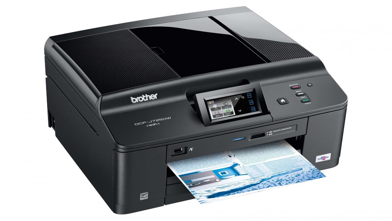 Inkoustová multifunkce Brother DCP-J725DW (tisk./kop./sken./PictBridge/čtečka/WiFi/ADF)