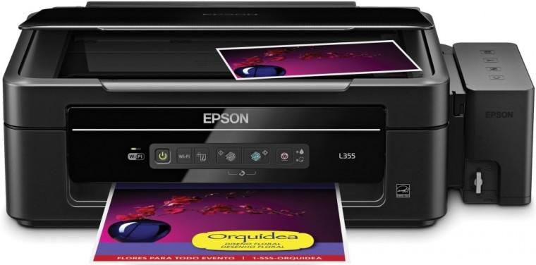 Inkoustová multifunkce EPSON tiskárna ink L355 MFZ, CIS,33ppm,4ink,USB,Wi-Fi,TANKSYSTEM