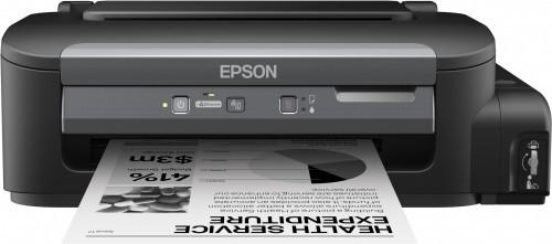 Inkoustová tiskárna EPSON tiskárna ink WorkForce M100, CIS, A4, 34ppm,ČB1ink,USB,NET