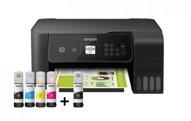 Inkoustová tiskárna Inkoustová tiskárna Epson L3160 tank, A4, Wi-Fi , 33ppm, color