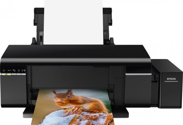 Inkoustová tiskárna Inkoustová tiskárna Epson L805 černá (C11CE86401)