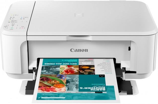 Inkoustová tiskárna Multifunkční inkoustová tiskárna Canon PIXMA MG3650S bíl barevná