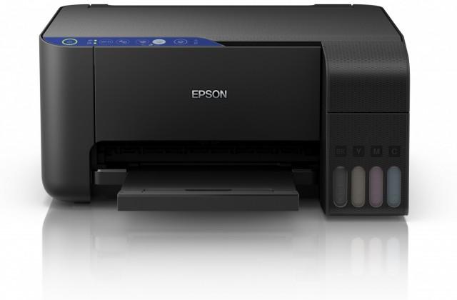 Inkoustová tiskárna Multifunkční inkoustová tiskárna Epson EcoTank L3151 barevná OBAL