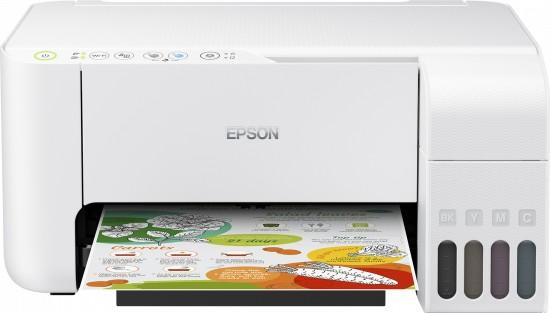 Inkoustová tiskárna Multifunkční inkoustová tiskárna Epson EcoTank L3156