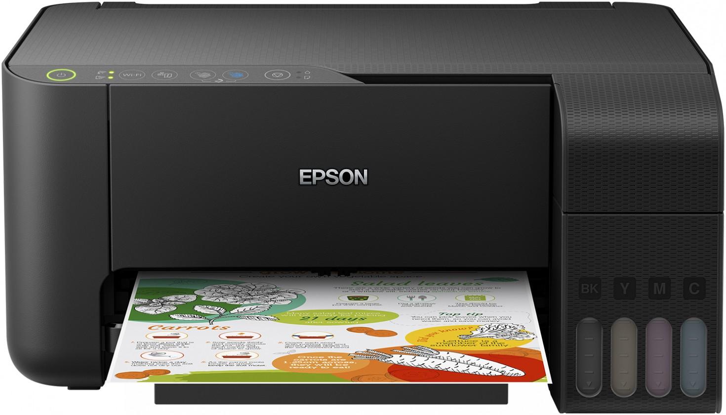 Inkoustová tiskárna Multifunkční inkoustová tiskárna Epson L3150, C11CG86405 OBAL POŠ