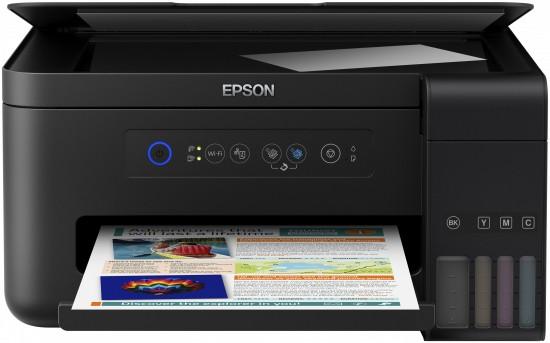 Inkoustová tiskárna Multifunkční inkoustová tiskárna Epson L4150