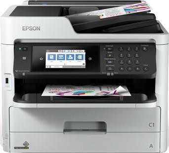 Inkoustová tiskárna Multifunkční inkoustová tiskárna Epson WorkForce Pro WF-C5710DWF
