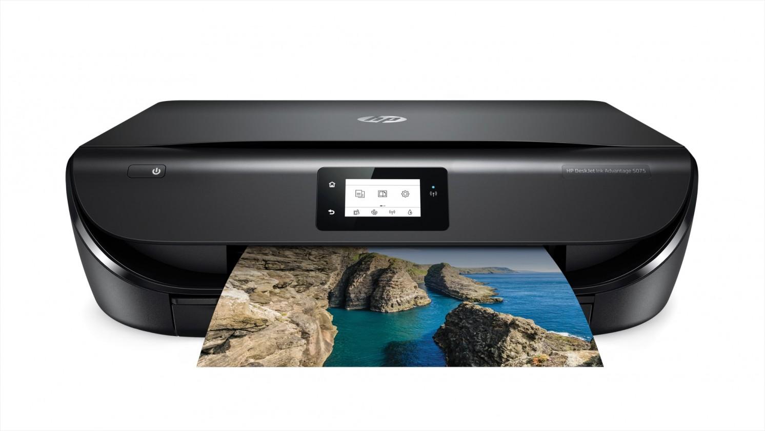 Inkoustová tiskárna Multifunkční inkoustová tiskárna HP, barevná, WiFi