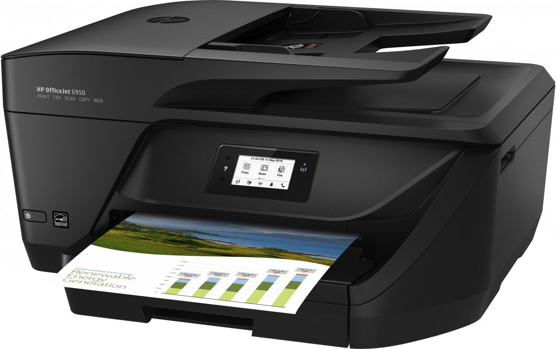 Inkoustová tiskárna Multifunkční inkoustová tiskárna HP Officejet 6950