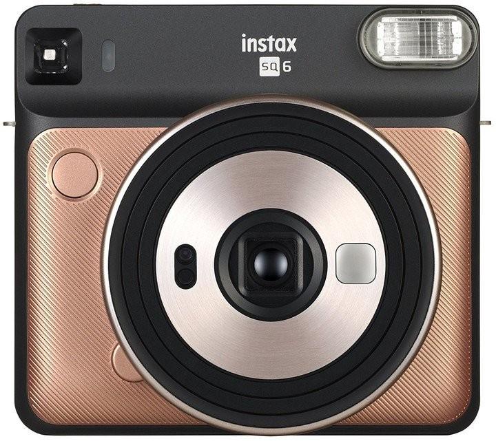 INSTAX Fotoaparát Fujifilm Instax SQUARE SQ6, zlatá