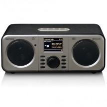 Internetové rádio Lenco DIR-140, černé