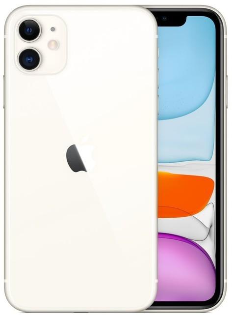 iOS Mobilní telefon Apple iPhone 11 64GB, bílá