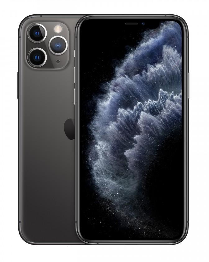 iOS Mobilní telefon Apple iPhone 11 Pro 64GB, tmavě šedá