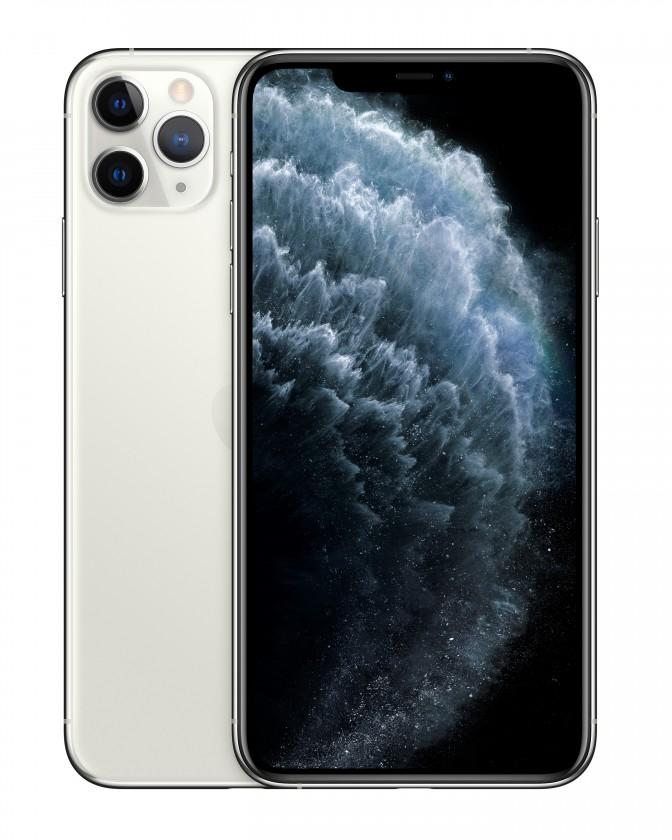 iOS Mobilní telefon Apple iPhone 11 Pro Max 64GB, stříbrná
