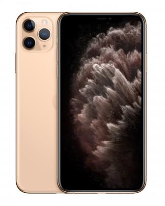 iOS Mobilní telefon Apple iPhone 11 Pro Max 64GB, zlatá