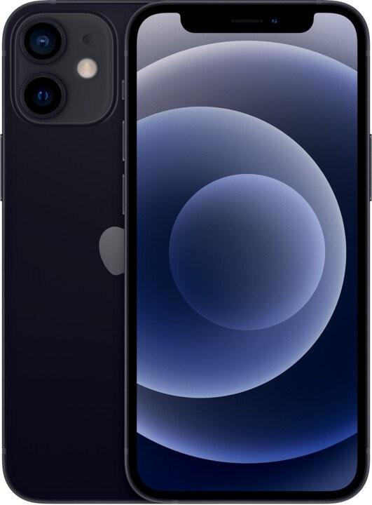 iOS Mobilní telefon Apple iPhone 12 mini 128GB, černá