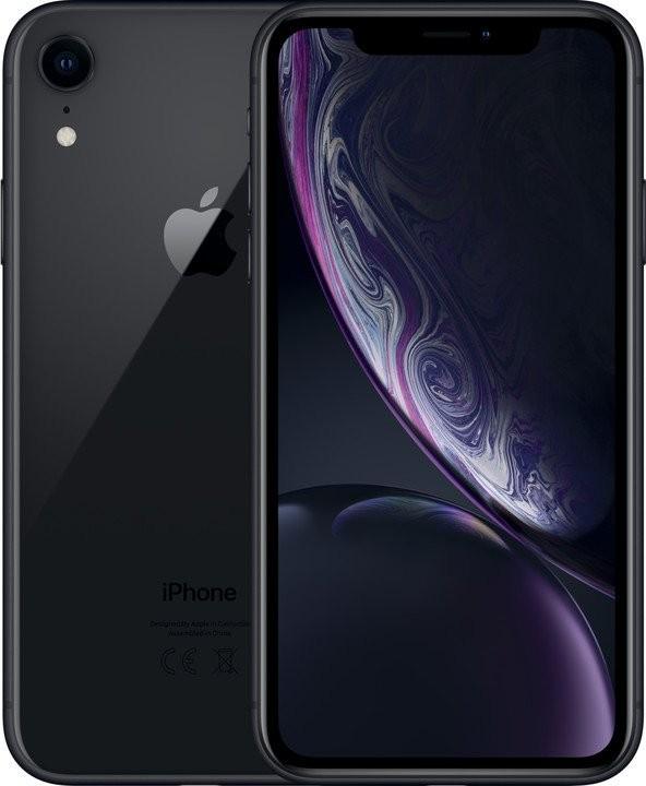 iOS Mobilní telefon Apple iPhone XR 64GB, černá