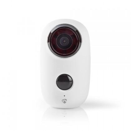 IP kamera Nedis WIFICBO10WT, dobíjecí, pohybový senzor, 6000mAh