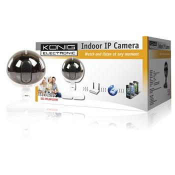 IP kamery König  -  SEC-IPCAM105W. IP kamera. CMOS. 640x480, night vison 5m