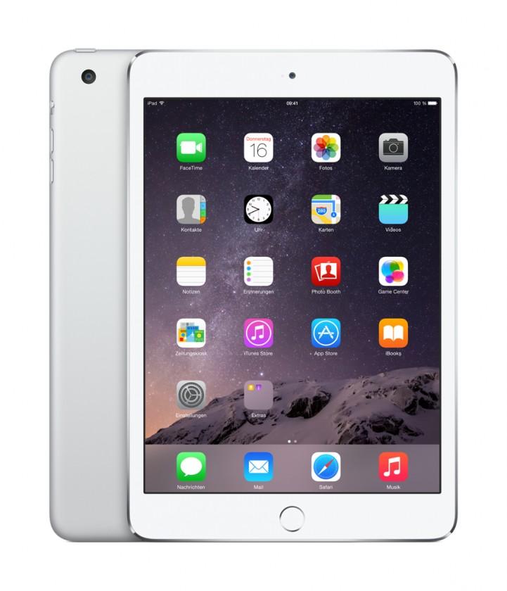 iPad tablet Apple iPad mini 3, 64 GB, Wi-Fi, stříbrný