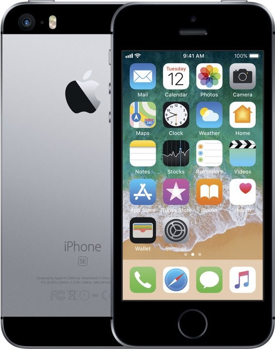 iPhone Apple iPhone SE 128GB Space Grey