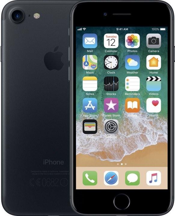 iPhone Mobilní telefon Apple iPhone 7 128GB, černá