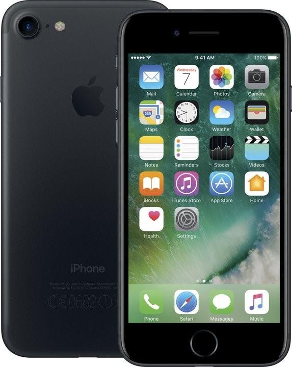 iPhone Mobilní telefon Apple iPhone 7 32GB, černá