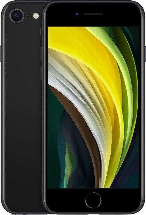 iPhone SE Mobilní telefon Apple iPhone SE (2020) 64GB, černá
