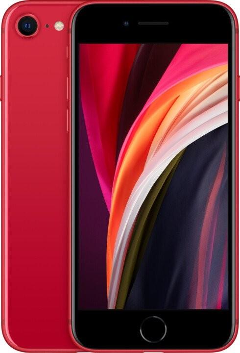 iPhone SE Mobilní telefon Apple iPhone SE (2020) 64GB, červená